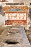 Archeological excavations of Pompeii, Italy Royalty Free Stock Photo