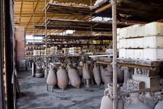 Archeological excavations of Pompeii, Italy Stock Image