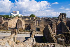 Archeological excavations of Pompeii, Italy Stock Photos
