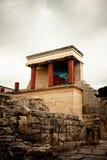 archeological knossoslokal Arkivfoton