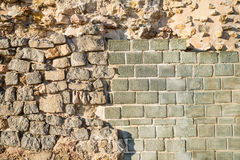 Archeological layers Stock Photography