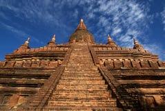Archeological lokal av Bagan - Myanmar | Burma Royaltyfria Bilder
