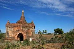 Archeological lokal av Bagan - Myanmar | Burma Royaltyfri Fotografi
