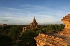 Archeological lokal av Bagan - Myanmar | Burma Royaltyfri Bild