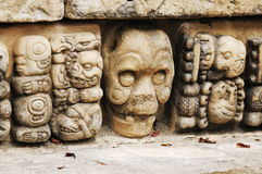 Archeological Park in Copan Royalty Free Stock Images
