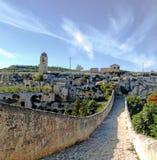 Archeological park di botromagno stock photography