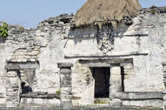 Archeological ruins, built by the Mayas Stock Photos