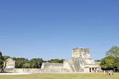 Archeological ruins, built by the Mayas Stock Photography