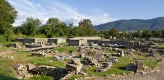 archeological sarmizegetusalokal Arkivbilder