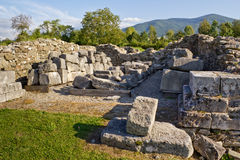 archeological sarmizegetusalokal Arkivfoto