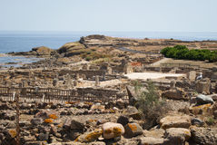 Archeological site Royalty Free Stock Images