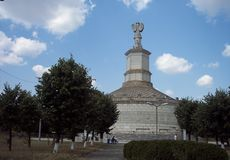 Adamclisi Monument, Constanta County, Romania royalty free stock images