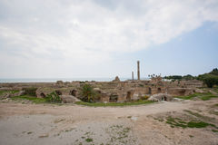 Archeological site of Carthage, Antonine Thermae, Tunis, Tunisia Stock Images