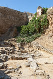 Archeological site Chania Crete Royalty Free Stock Photos