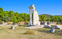 The archeological site of Epidaurus Royalty Free Stock Images