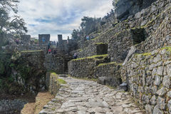 Archeological site of Machu Picchu ,Peru.  royalty free stock image
