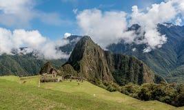 Archeological site of Machu Picchu , Peru.  royalty free stock photo