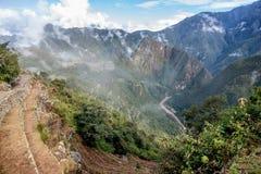 Archeological site of Machu Picchu ,Peru.  stock photos
