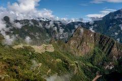 Archeological site of Machu Picchu ,Peru.  stock photo