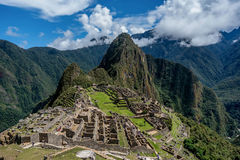 Archeological site of Machu Picchu ,Peru Royalty Free Stock Images
