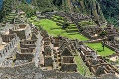 Archeological site of Machu Picchu ,Peru.  royalty free stock photo