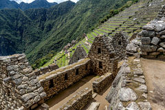 Archeological site of Machu Picchu ,Peru.  royalty free stock photography