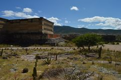 Archeological site of Mitla in the state of Oaxaca Stock Images