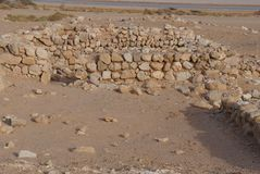 Archeological site near Eilat Royalty Free Stock Images