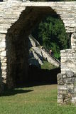 Archeological site of Palenque. Mexico Royalty Free Stock Photography