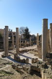 ARCHEOLOGICAL SITE IN PAPHOS, CYPRUS Royalty Free Stock Photography