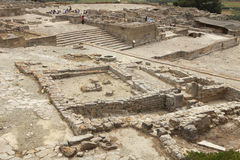 Archeological site of Phaistos in Crete Royalty Free Stock Photography