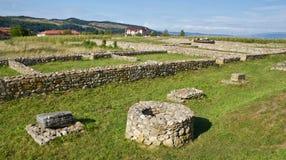 Archeological site-Sarmizegetusa Royalty Free Stock Photos