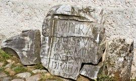Archeological site-Sarmizegetusa Royalty Free Stock Image