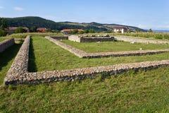 Archeological site-Sarmizegetusa Stock Images