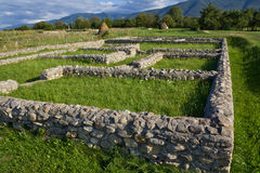 Archeological site-Sarmizegetusa Stock Photos
