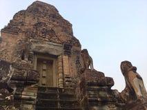 Archeological starożytna architektury Pre Rup świątynia Kambodża zdjęcie royalty free