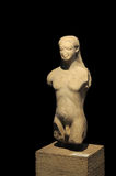Archeological Statue Royalty Free Stock Photography