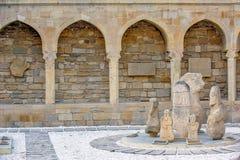 Archeologiczna ekspozycja w Baku, Azerbejdżan Obrazy Stock