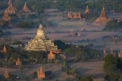 Archeologiczna strefa Bagan, Myanmar - Obraz Stock