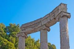 archeologiczny Greece olimpia miejsce zdjęcia royalty free