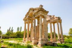 Archeologiczny miejsce Aphrodisias w Turcja Obrazy Stock