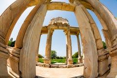 Archeologiczny miejsce Aphrodisias w Turcja Zdjęcie Stock