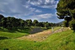 Archeologiczny miejsce Asklipieion przy Epidaurus zdjęcie royalty free