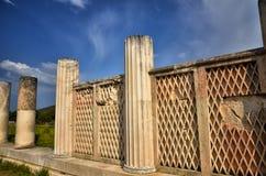Archeologiczny miejsce Asklipieion przy Epidaurus fotografia royalty free