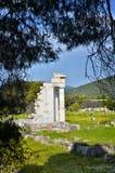 Archeologiczny miejsce Asklipieion przy Epidaurus zdjęcia royalty free