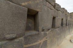 Archeologiczny miejsce przy Ollantaytambo, inka Święta dolina miasto, specjalizuje się podróży miejsce przeznaczenia w Cusco regi Zdjęcie Royalty Free