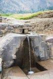 Archeologiczny miejsce przy Ollantaytambo, inka Święta dolina miasto, specjalizuje się podróży miejsce przeznaczenia w Cusco regi Zdjęcia Royalty Free