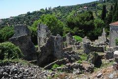 Archeologiczny miejsce Stari bar zdjęcie stock