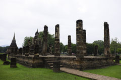 Archeologiczny miejsce Sukothai Zdjęcia Royalty Free