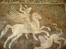 Archeologiczny muzeum w Rhodes miasteczku jest obok daleki najlepszy muzeum w Dodecanese zdjęcie stock